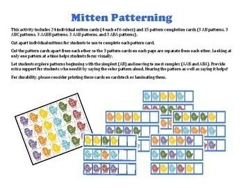 Mitten Math Madness: patterns, measurement, memory & making 10