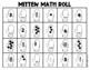 Mitten Math (Partner Game) Roll a Number