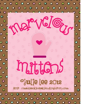 Mitten Math and Literacy Activities and The Mitten story activities