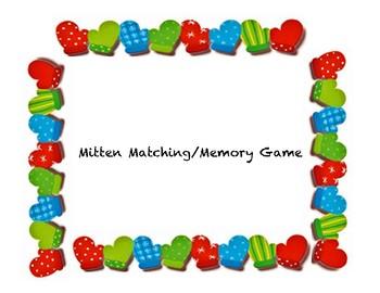 Mitten Memory Game