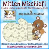 Mitten Mischief! {reading, retelling & writing for The Mit