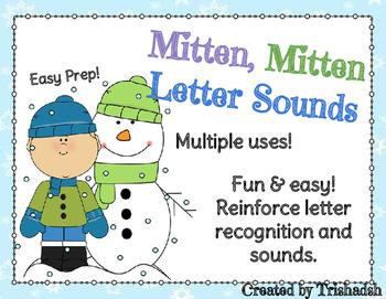 Mitten, Mitten Letter Sounds