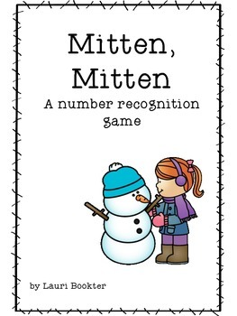 Mitten, Mitten a Number Recognition Game