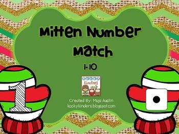 Mitten Number Match