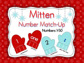 Mitten Number Match-Up