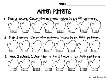 Mitten Patterns