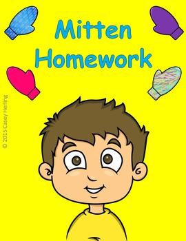 Mitten Preschool Homework