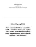Mitten Rhyming Match