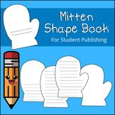 Mitten Shape Book