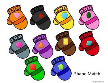 Mitten Shape Match
