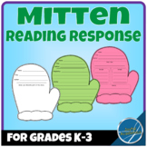 Mitten Shaped Reading Response Sheets for Any Book