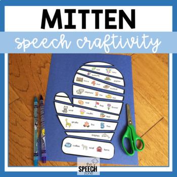 Winter Mitten Speech Craft