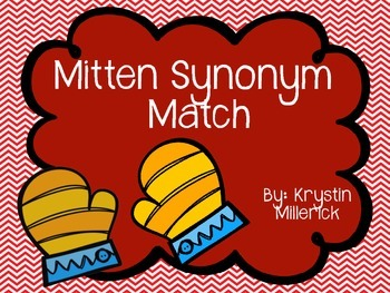Mitten Synonym Match