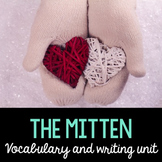 Mitten Word Cards and Word Walls in English and Spanish