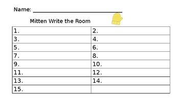 Mitten Write the Rom