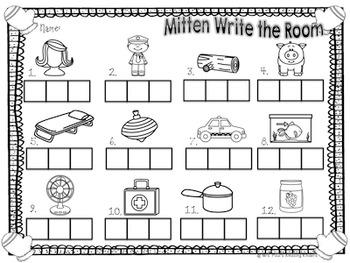 Mitten Write the Room