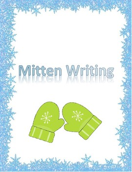 Mitten Writing Sheet