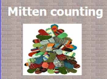 Mitten counting with 1:1 correspondence