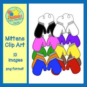 Mittens Clip Art