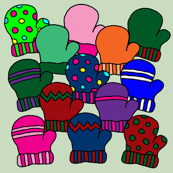 Mittens Clip Art 41 Images