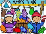 Mittens 'n Kids Clip Art Set - Chirp Graphics