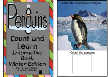 Mittens Counting Interactive Book  BUNDLE WINTER EDITION 2