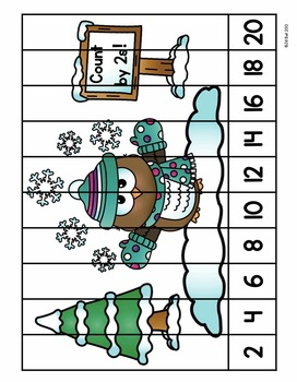 Counting by 2s: Mittens