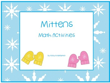 Mittens Differentiated Math Activities