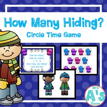 Mittens How Many Hiding? Circle Time Game