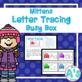 Mittens Letter Tracing Busy Box