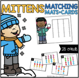 Mittens Matching Mats and Activity Cards (Patterns, Colors