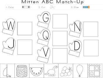Mittens: Math & Literacy Activities