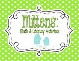 Mittens: Math & Literacy Activities