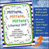 Mittens, Mittens, Mittens ~ A Winter Literacy Unit