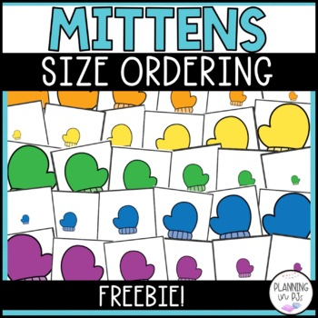 Mittens: Size Comparing Cards FREEBIE