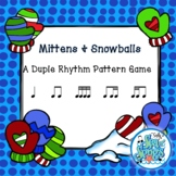 Mittens & Snowballs - Duple Rhythm Patterns - Rhythm Game