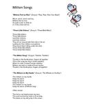 Mittens Theme: Curriculum Ideas for Preschool or Kindergarten