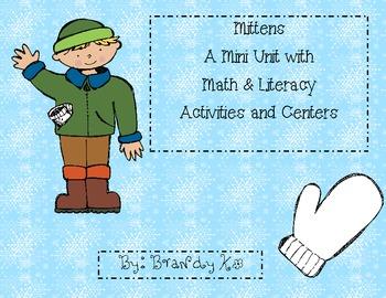 Mittens in Winter: Mini Unit & Centers