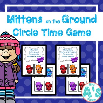 Mittens on the Ground Circle Time Game