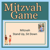 Mitzvah Stand Up Sit Down FOR GOOGLE SLIDES