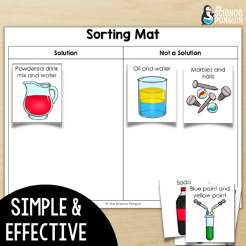 Mixtures and Solutions Stations: A Big Science Stations Unit