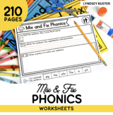 Mix & Fix Phonics Bundle
