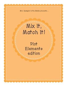 Mix It Match It Game - Plot elements edition!