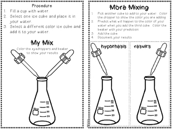 Mix It Up!  {A Color Mixing Experiment Using the Scientific Method}