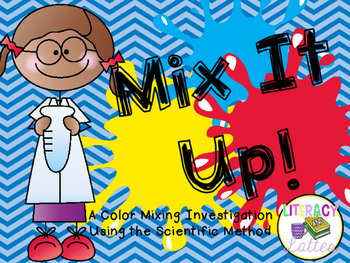Mix It Up!  {A Color Mixing Experiment Using the Scientifi