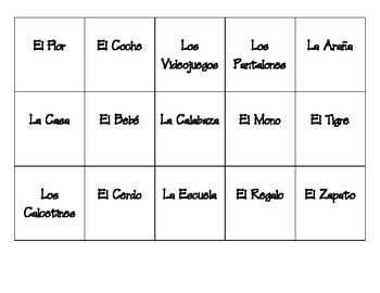 Mix It Up! Spanish Classroom Seating Ice Breaker, Back to School Activity