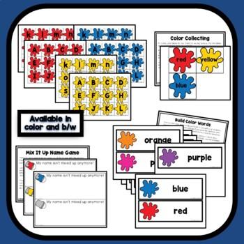 Mix It Up Theme Preschool Lesson Plans