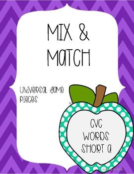 Mix & Match CVC Short A