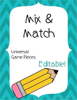 Mix & Match EDITABLE