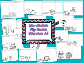 Mix-Match Flip Books - 6 Versions for Differentiation {ELA Edition}